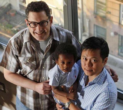 coppia gay con figli