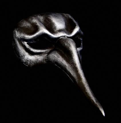 Naso Scaramouche  venetian masquerade mask - Iron