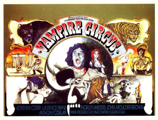 el circo de los vampiros - vampire circus - 1971 - Poster002