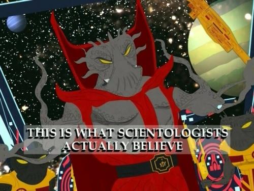 Scientology South_Park_Xenu