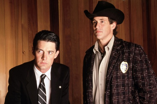 TWIN PEAKS, Kyle MacLachlan, Michael Ontkean, 1990-91, (c)Spelling Productions/courtesy Everett Collection