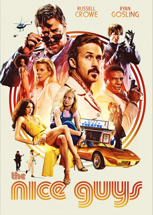 April 21, 2016 - The Nice Guys - Poster and cover for the official soundtrack that will be released by Lakeshore Recors on May 20, 2016