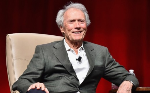 LAS VEGAS, NV - APRIL 22:  Recipient of the Fandango Fan Choice award for Favorite Film of 2014, 'American Sniper,' Clint Eastwood speaks onstage during CinemaCon and Warner Bros. Pictures Present ?The Legend of Cinema Luncheon: A Salute to Clint Eastwood? at Caesars Palace during CinemaCon, the official convention of the National Association of Theatre Owners, on April 22, 2015 in Las Vegas, Nevada.  (Photo by Alberto E. Rodriguez/Getty Images for CinemaCon)
